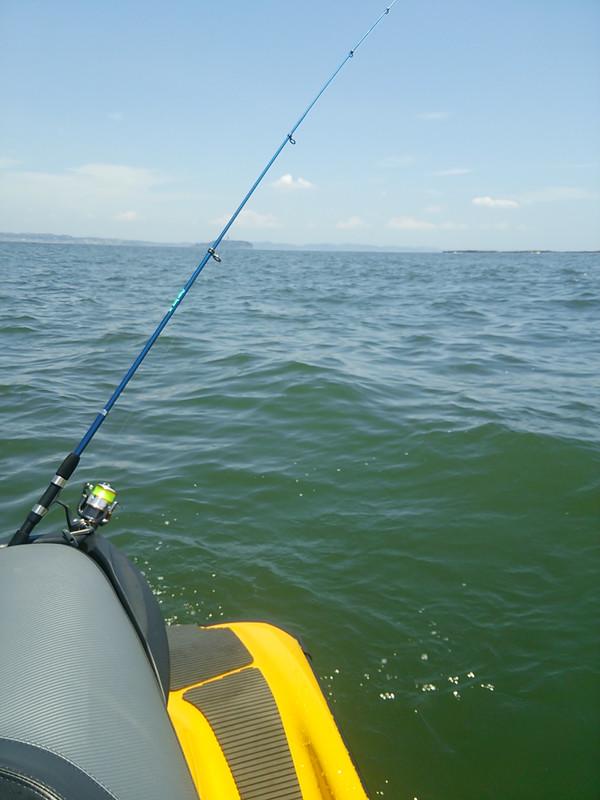 ジェットで釣り