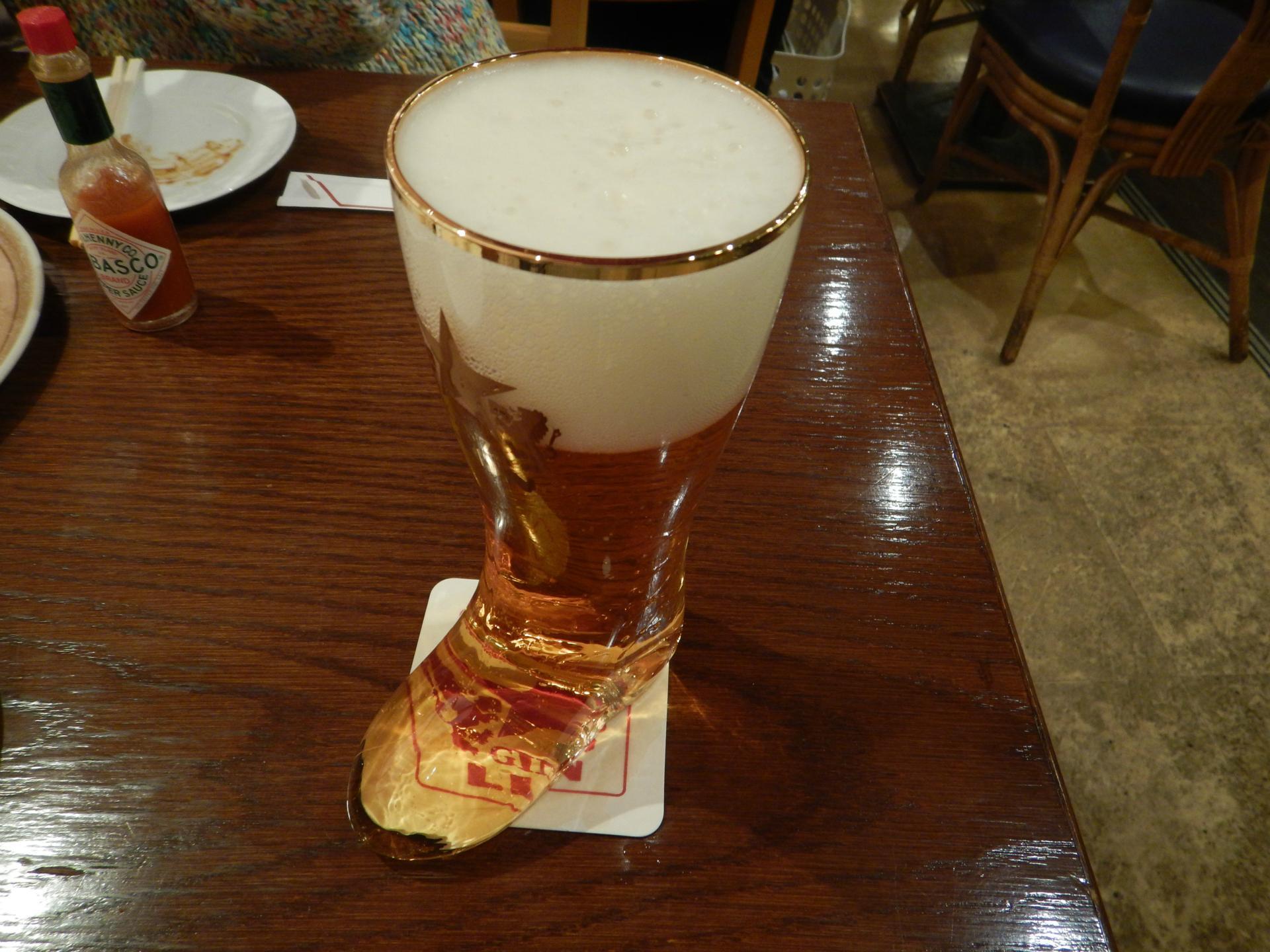銀座ライオン ブーツビール