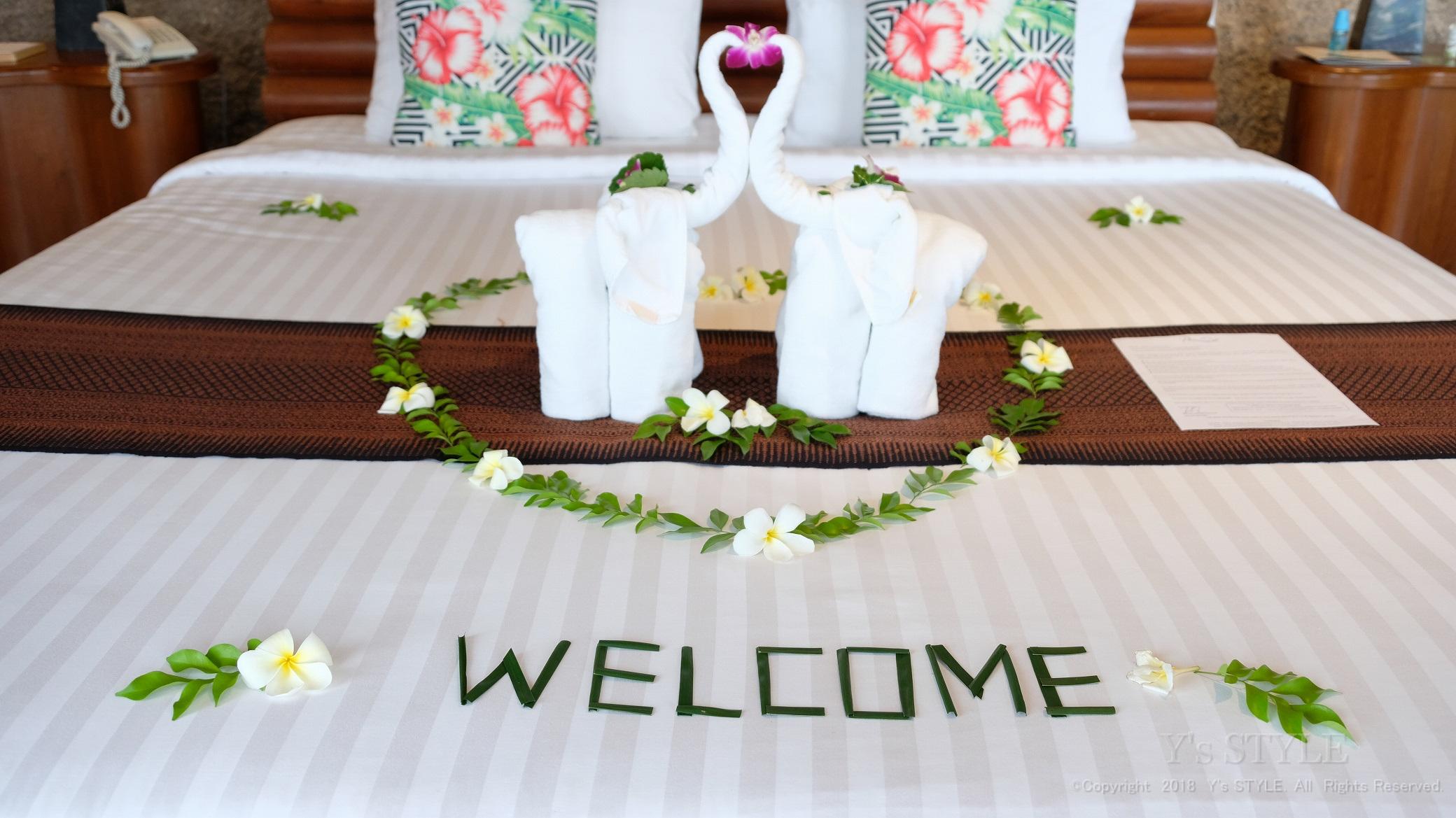 2018年6月サムイ島・パンガン島旅行 ホテルに着いたぞ~!!