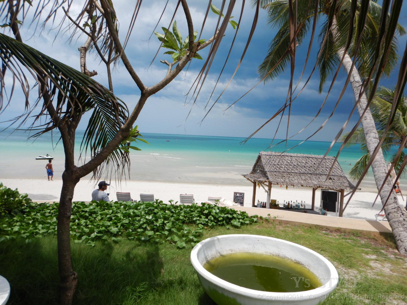 タイのビーチリゾートでした事
