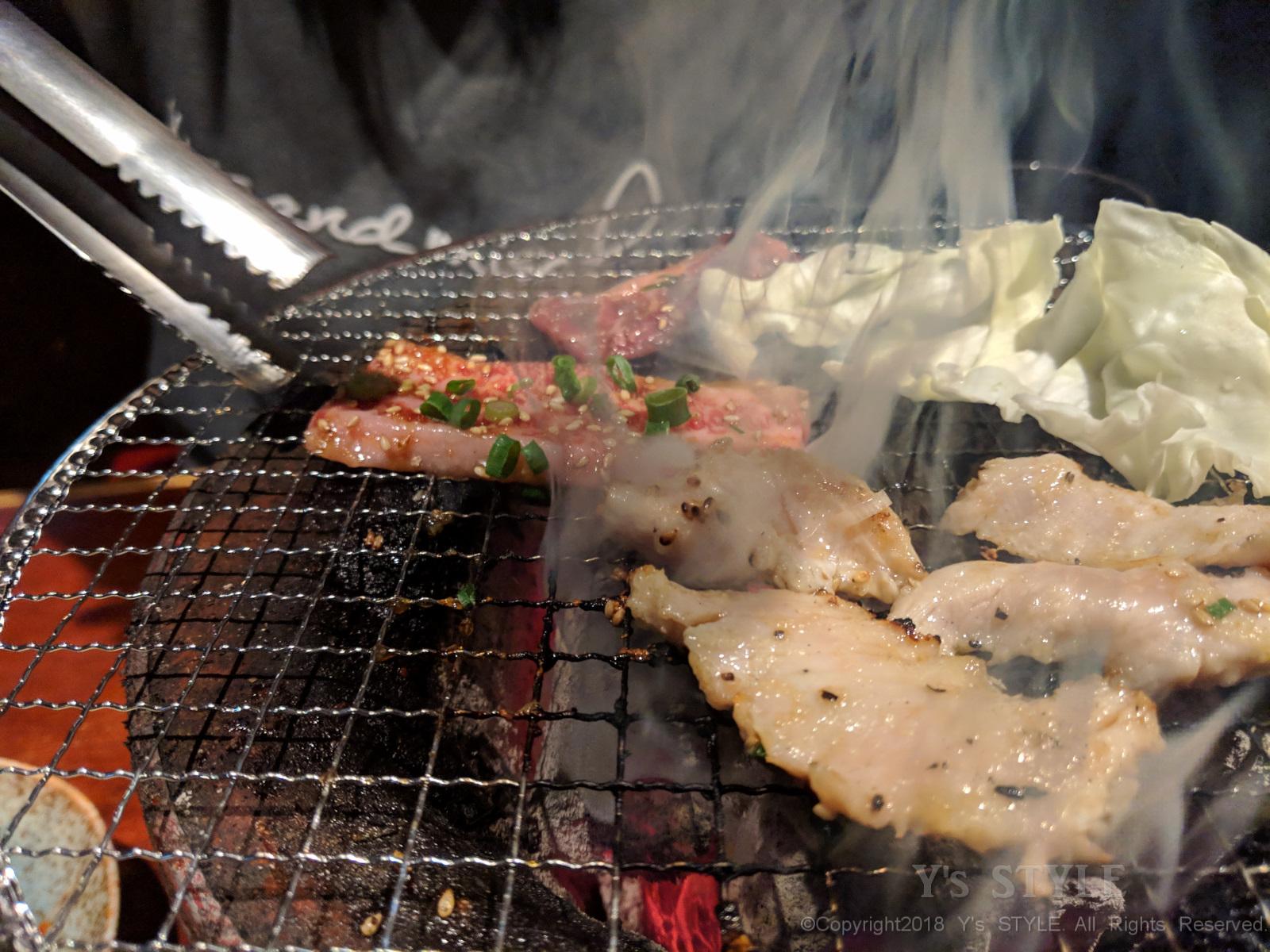 焼き肉屋さんのお年玉キャンペーン